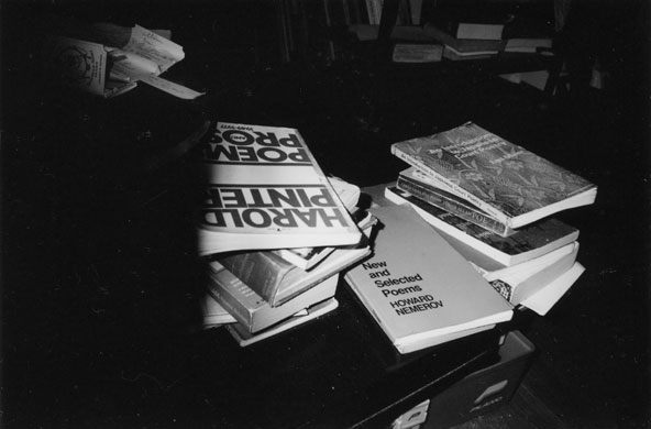 Books, photograph, 2002