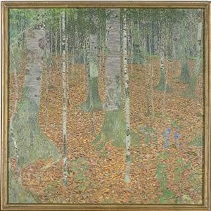 Gustav KlimtBeech Woods (Birch Woods)1903Oil on canvas43 1/4 x 43 1/4 in.