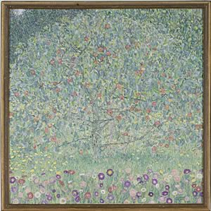Gustav KlimtApple Tree I1911 or 1912Oil on canvas42 7/8 x 43 1/4 in.